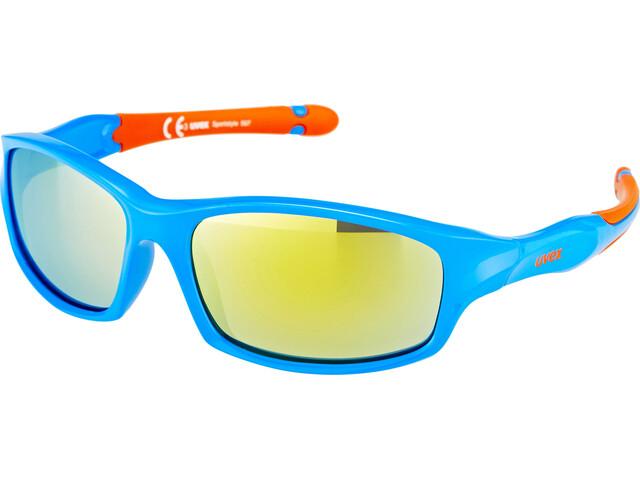 UVEX sportstyle 507 Kids Glasses blue orange